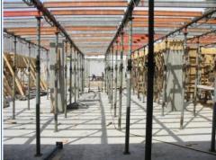 Sistema de apuntalamiento, de alta capacidad portante para grandes y pequeñas estructuras
