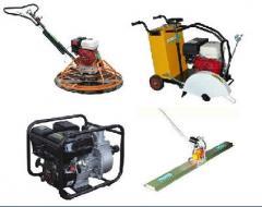 Gran variedad de maquinarias