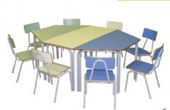 Pre-escolares Conjunto Mesa y sillas