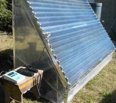 Banco de pruebas para tecnología solar