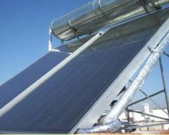 Calentador solar Grillo ® flat para bajas y altas temperaturas