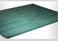 Pallets Plásticas JR6 Verde